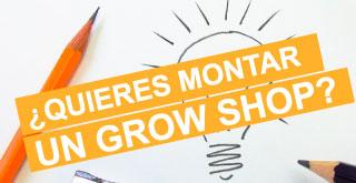 Montar un grow shop