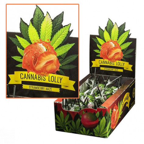 CANNABIS LOLLY POP STRAWBERRY HAZE 70UNDS