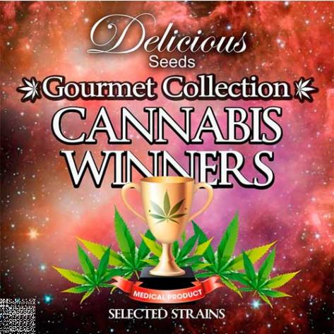 CANNABIS WINNERS # 1 (COLECCIONES) DELICIOUS SEEDS 9UN