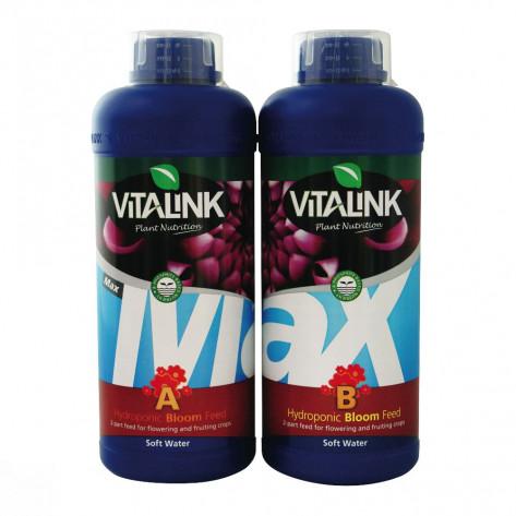 MAX BLOOM B HYDRO (AGUAS BLANDAS) VITALINK 1L-34