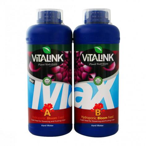 MAX BLOOM A HYDRO (AGUAS BLANDAS) VITALINK 1L-33