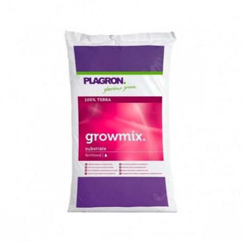 GROW MIX CON PERLITA PLAGRON 25L