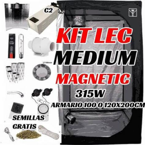 KIT LEC MEDIUM MAGNÉTICO C2 315W ARMARIO 100-120CM