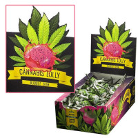 CANNABIS LOLLY POP BUBBLE GUM 70UNDS