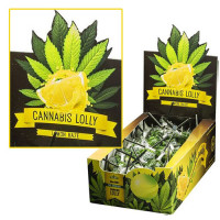 CANNABIS LOLLY POP LEMON HAZE (CAJA 70UN)
