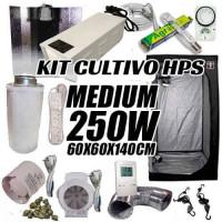 KIT CULTIVO INTERIOR MEDIUM 250W ARMARIO 60X60X140CM-22