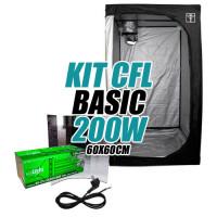 KIT CULTIVO INTERIOR BASIC CFL200w ARMARIO 60X60cm