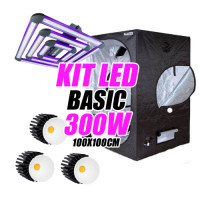 KIT LED CULTIVO BASIC 300W (ARMARIO 100X100X200)