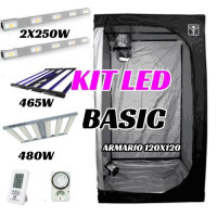 KIT LED CULTIVO BASIC (ARMARIO 120X120X200