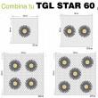 Distribución TGL STAR 60