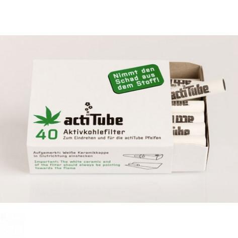 ACTITUBE CARBÓN ACTIVO CAJA 40und-32