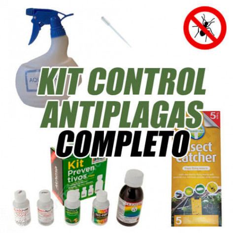 KIT CONTROL ANTIPLAGAS COMPLETO