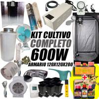 Kit completo 600W armarios 120x120