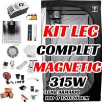 KIT LEC COMPLET MAGNÉTICO C1 315W ARMARIO 100-120CM