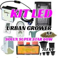 KIT LED CULTIVO URBAN GROWER SOLUX 60W-26